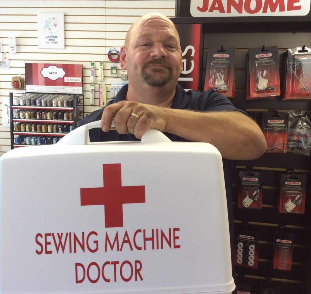 We love to service and repair your sewing machines.