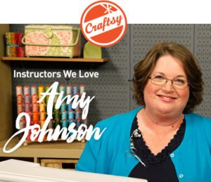 Owner of Sew Simple of Lynchburg, Amy Johnson