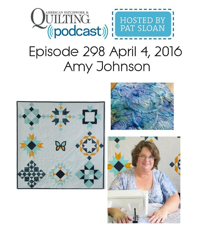 Amy Johnson American Patchwork and Quilting Radio Show