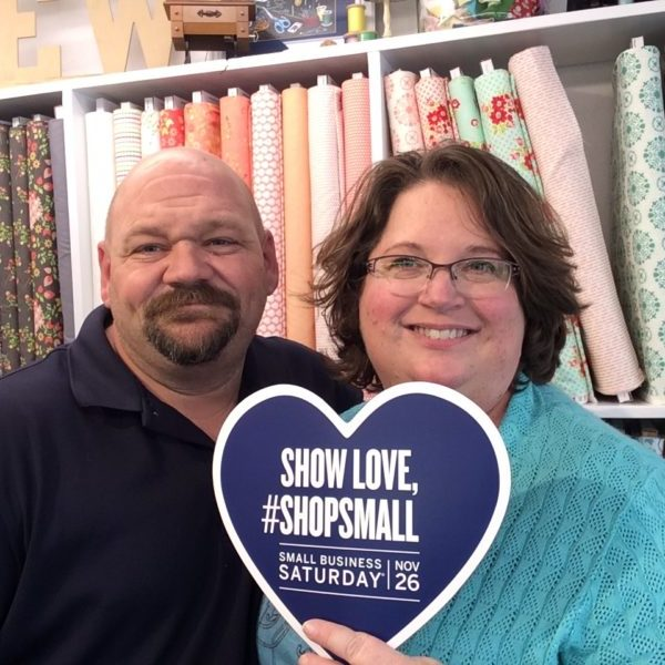 shop small with Sew Simple of Lynchburg