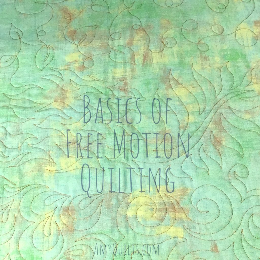 Basics of Free Motion Quilting Class